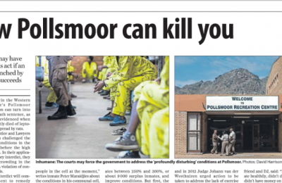 How Pollsmoor can kill you