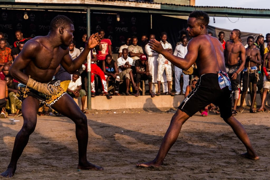 11 July 2019: Dambe fighting, an ancient Nigerian martial art, has experienced a revival with various Dambe promoters now operating in Lagos.