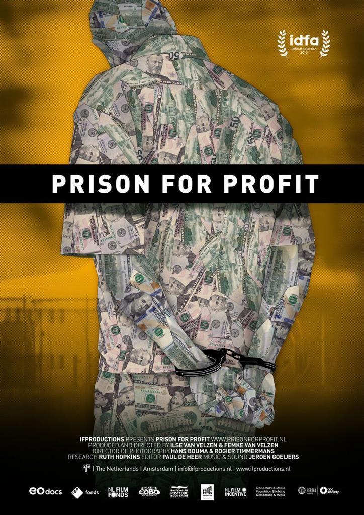 Prison for Profit Film Poster