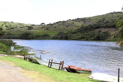 The Umnini Dam tourist attraction claimed by Umgababa chief Phathisizwe Luthuli. Picture: Qiniso Mbili
